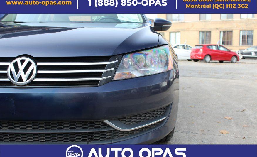 2012 Volkswagen PASSAT Comfortline boite de 2.5
