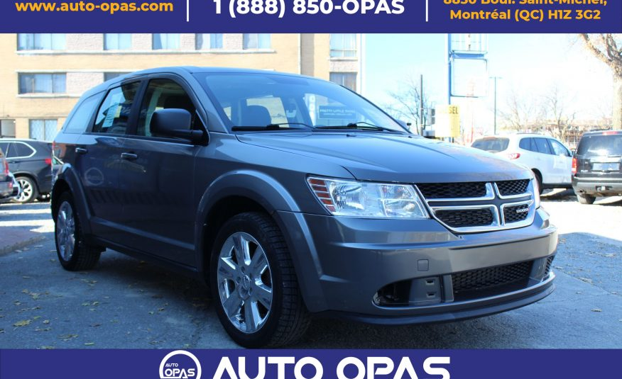 2013 Dodge Journey Value Package Canada